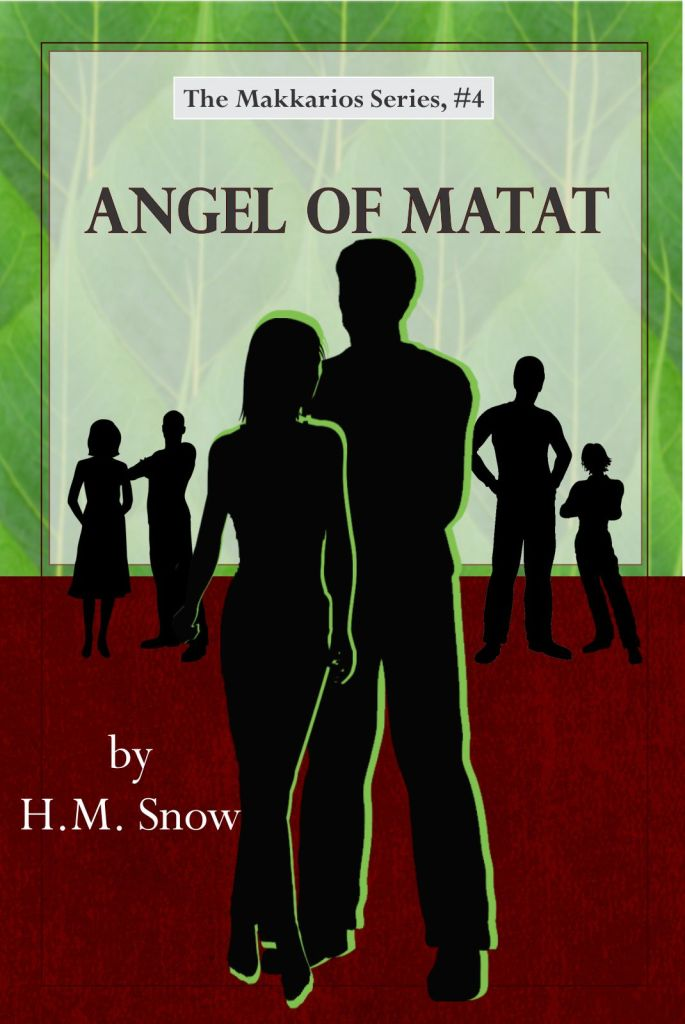 Angel of Matat book cover image